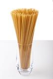 Spaghetti in a glas Royalty Free Stock Photos