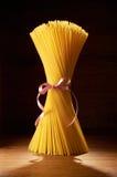 Spaghetti grezzi Fotografia Stock Libera da Diritti