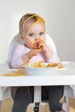Spaghetti Head Royalty Free Stock Image