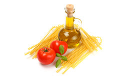 Spaghetti ingredient Stock Image