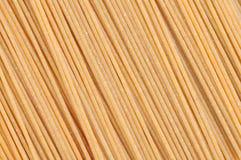 Spaghetti integrali Fotografia Stock