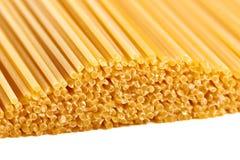Spaghetti isolated macro background Royalty Free Stock Images