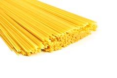 Spaghetti isolated on white Stock Photo