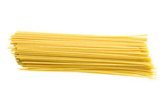 Spaghetti isolated on white Royalty Free Stock Photography