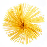 Spaghetti isolated on white Royalty Free Stock Image