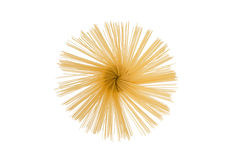 Spaghetti isolated Stock Image