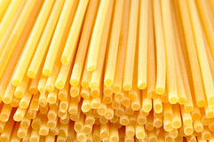 Spaghetti, Italiaanse deegwarenachtergrond Royalty-vrije Stock Foto's