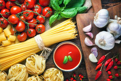 Spaghetti Italian food Royalty Free Stock Photo