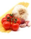 Spaghetti italiani Fotografie Stock Libere da Diritti