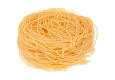 Spaghetti italiani del fettuccine Immagine Stock