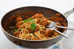 Spaghetti italiens Image stock