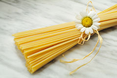 Spaghetti italiens Photo stock