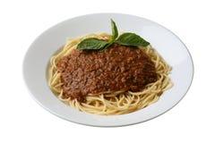 Spaghetti italiens Images stock