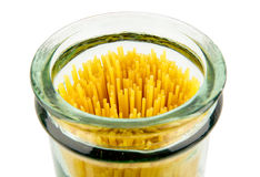 Spaghetti jar Stock Photo