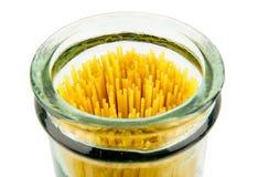 Spaghetti jar Stock Photo