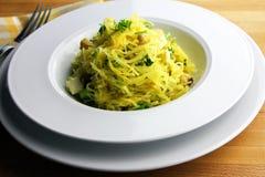 Spaghetti-Kürbis Stockfotografie