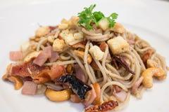 Spaghetti Korzenny Fotografia Stock