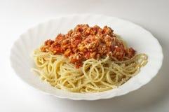Spaghetti a la Bolognese Stock Photography