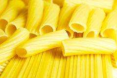 Spaghetti and macaronee close-up Stock Photo