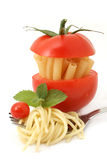 Spaghetti and macaroni Royalty Free Stock Images