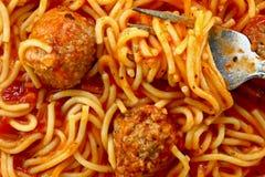 Spaghetti macro Stock Images