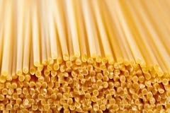 Spaghetti macro background Stock Photo