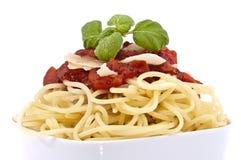 Spaghetti (macro view) Stock Image
