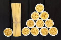 Spaghetti makaron Fotografia Royalty Free