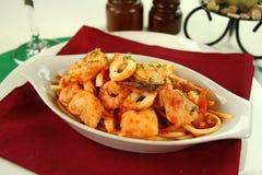 Spaghetti Marinara Stock Photo