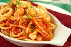 Spaghetti Marinara Stock Foto