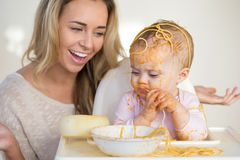 Spaghetti Mess Royalty Free Stock Image