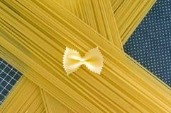 Spaghetti motyla krawat Obraz Stock