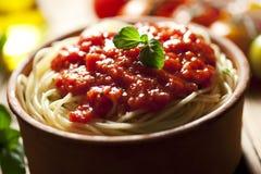Spaghetti napolitana royalty free stock photos