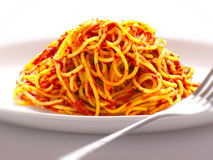Spaghetti noodles Royalty Free Stock Photos