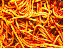 Spaghetti noodles Royalty Free Stock Photo