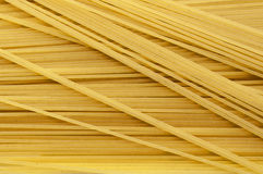 Spaghetti noodles or pasta food background Stock Photos