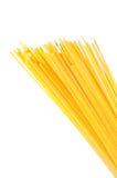 Spaghetti op geïsoleerdn wit Royalty-vrije Stock Afbeelding