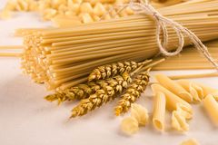 Spaghetti Pasta Stock Photography