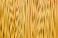 Spaghetti Pasta. Dry Italian spaghetti pasta as a background stock images