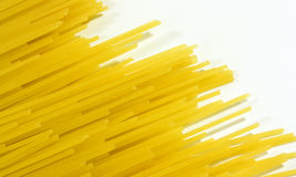 Raw spaghetti  Royalty Free Stock Photos