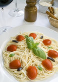 Spaghetti pasta Royalty Free Stock Photo