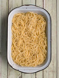 Spaghetti pasta Stock Photo