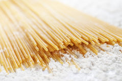 Spaghetti pasta closeup Stock Photos