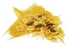 Spaghetti Pasta mix Stock Image