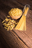 Spaghetti and pasta Stock Image