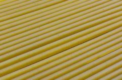 Spaghetti pattern background. Long macaroni Stock Photo