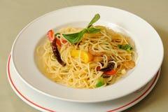 Spaghetti Pepperontino Zdjęcia Stock
