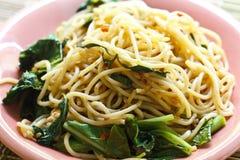 Spaghetti piccanti immagini stock