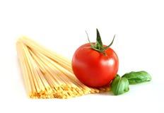spaghetti podstawowego Zdjęcia Stock