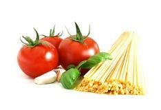 spaghetti podstawowego Zdjęcie Stock